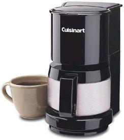 Cuisinart 4-Cup Black Coffeemaker