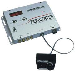 AUDIOCONTROL EPICENTER CAR AUDIO DIGITAL BASS EQUALIZER BLACK