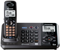 Panasonic 2-Line DECT 6.0 Expandable Digital Cordless Phone With Answering System - KX-TG9381T