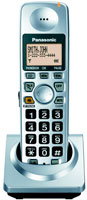 Panasonic Expandable Digital Cordless DECT 6.0 Handset In Silver - KX-TGA101S