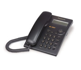 Panasonic Integrated Corded Black Telephone - KXTSC11B