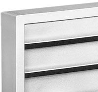 GE Zoneline Architectural Rear Air Conditioner Grille - Beige Finish
