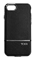 Tumi Black With Silver Two Piece Slider Case For iPhone 7
