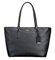 Tumi Voyageur Black Carolina Leather Tote