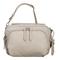 Tumi Voyageur Grey Luanda Leather Flight Bag
