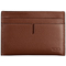 Tumi Nassau Brown Textured ID Lock Slim Card Case