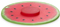 "Charles Viancin 11"" Watermelon Air-Tight Silicone Lid"