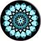 PopSockets Mandala Collection Peace Sky Phone Grip
