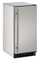 """U-Line 15"""" Stainless Steel Outdoor Compact Refrigerator"""