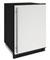 "U-Line 1000 Series 24"" White Solid Convertible Freezer"