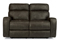 Flexsteel Tomkins Fabric Power Reclining Loveseat With Power Headrest