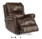 Flexsteel Miles Leather Power Gliding Recliner
