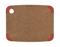 Epicurean Nutmeg/Red Corner Non-Slip 11.5x9 Cutting Board