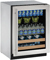 "U-Line 24"" 2000 Series Stainless Steel Beverage Center"