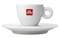 illy Logo White Espresso Cup And Saucer