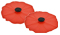 """Charles Viancin 4"""" Set of 2 Poppy Silicone Drink Covers"""
