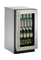 "U-Line 18"" Stainless Steel Frame Compact Refrigerator"