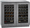"U-Line 36"" Modular 3000 Series Panel Ready Integrated Wine Captain Cooler"