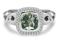 Charles Krypell Ellah Green Amethyst Sterling Silver Ring