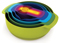 Joseph Joseph Multi-Color Nest 9 Plus Food Preparation Bowl Set