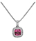 Charles Krypell Ellah Sterling Silver And Pink Topaz Necklace