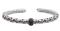 Charles Krypell Ivy Black Sapphire Sterling Silver Bracelet