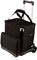 Picnic Time Black Cellar Cooler Tote With Trolley