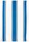 "MUkitchen 20"" X 30"" Cotton Classic Blueberry Stripe Dishtowel"