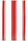 "MUkitchen 20"" X 30"" Cotton Classic Crimson Stripe Dishtowel"
