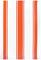 "MUkitchen 20"" X 30"" Cotton Classic Sea Coral Stripe Dishtowel"