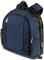 Picnic Time Navy PT-Navigator Stadium Seat & Cooler Backpack