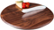 Picnic Time Solstice Black Walnut Cutting Board And Cheese Knife Set
