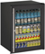 "U-Line 24"" Black Glass Door Compact Refrigerator"