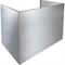 "Best 18"" Stainless Steel Soffit Flue Cover"