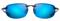 Maui Jim Hookipa Smoke Grey Blue Hawaii Unisex Sunglasses