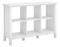 Bush Furniture Broadview Pure White 6 Cube Bookcase