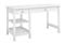 Bush Furniture Broadview Pure White Computer Desk With Open Storage