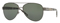 Burberry Pilot Gunmetal Womens Sunglasses