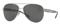 Burberry Pilot Brushed Silver Womens Sunglasses