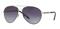 Burberry Silver Aviator Womens Sunglasses