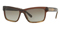 Burberry Brown Gradient Striped Mens Sunglasses