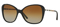 Burberry Butterfly Black Womens Sunglasses