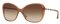Burberry Butterfly Brown Gradient Womens Sunglasses