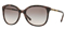 Burberry Square Spotted Brown Womens Sunglasses