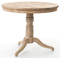 Four Hands Whitewash Round Occasional Table