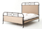 Four Hands Palm Ecru Irondale Berkley Metal Queen Bed