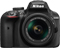 Nikon D3400 Black Digital SLR Camera With 18-55mm VR Lens Kit