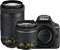 Nikon D3400 Black Digital SLR Camera Two Lens Kit