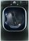LG Black Stainless Steel Super Capacity TurboSteam Electric Dryer