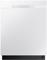 """Samsung 24"""" White Built-In Dishwasher"""